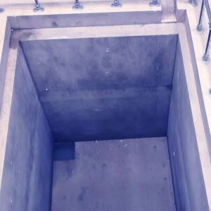 Gas and Submerged Gas Testing Pit