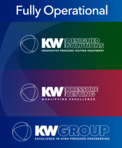 KW Pressure Testing is Fully Operational